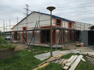 Foto 1 van het album Nieuwbouw woning + pensionstal te Assen