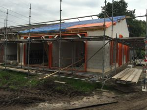 Foto 4 van het album Nieuwbouw woning + pensionstal te Assen