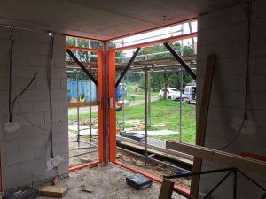 Foto 5 van het album Nieuwbouw woning + pensionstal te Assen