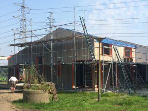 Foto 6 van het album Nieuwbouw woning + pensionstal te Assen