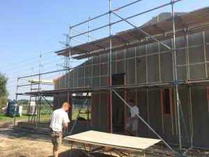 Foto 7 van het album Nieuwbouw woning + pensionstal te Assen