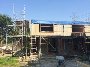 Foto 9 van het album Nieuwbouw woning + pensionstal te Assen