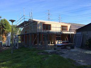 Foto 10 van het album Nieuwbouw woning + pensionstal te Assen