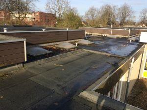 Foto 2 van het album Renovatie daken CBS de Schutkampen Smilde