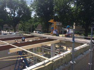 Foto 3 van het album Renovatie daken CBS de Schutkampen Smilde