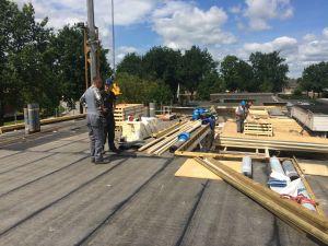 Foto 12 van het album Renovatie daken CBS de Schutkampen Smilde