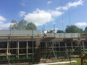 Foto 18 van het album Renovatie daken CBS de Schutkampen Smilde