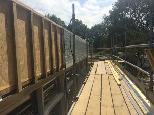 Foto 19 van het album Renovatie daken CBS de Schutkampen Smilde