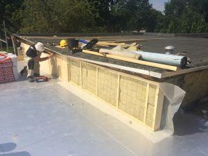 Foto 16 van het album Renovatie daken CBS de Schutkampen Smilde