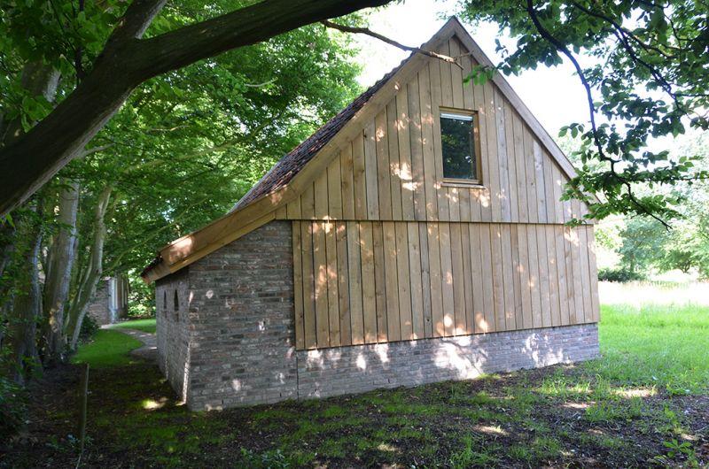 Nieuwbouw schuur oude stijl in Dwingeloo